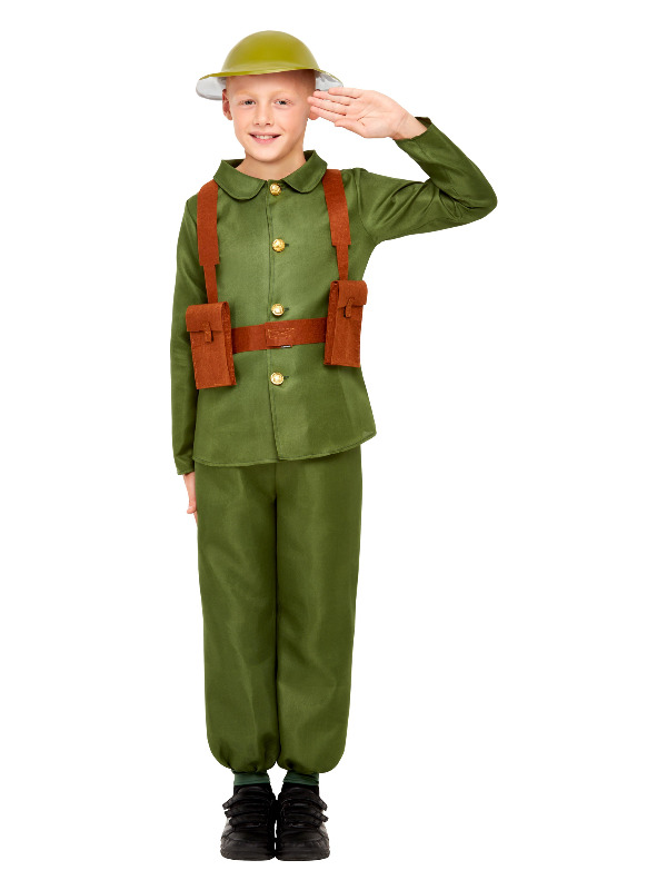 WW1 Soldier Costume, Green