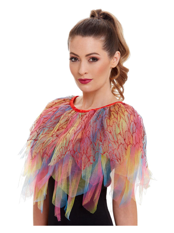 Bird of Paradise Cape, Multi-Coloured