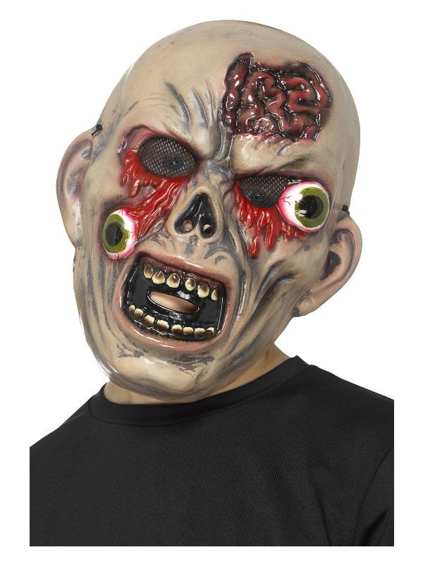 Monster Bulging Eye Mask, Multi-Coloured