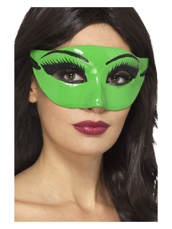 Wicked Witch Eyemask, Green