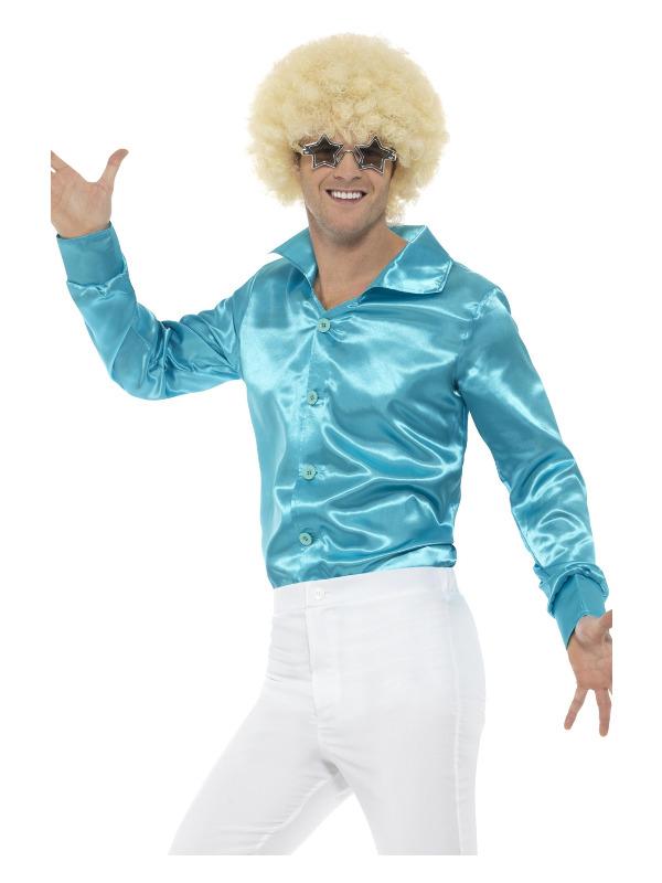 60s Shirt, Blue