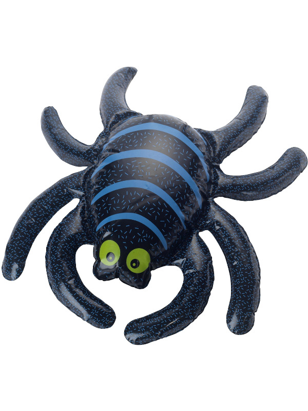 Inflatable Spider, Black, 44x34cm / 17x13in