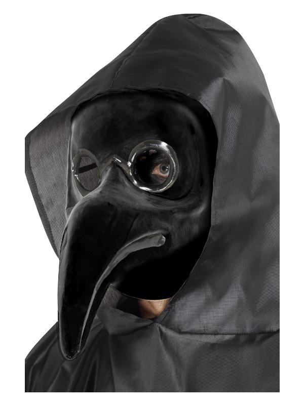 Authentic Plague Doctor Mask, Black