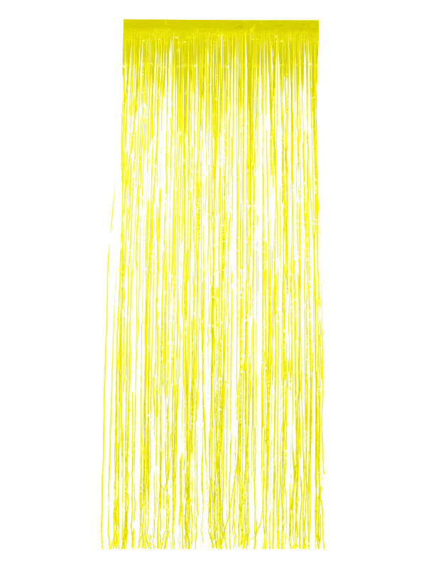 Shimmer Curtain, Yellow, 91x244cm / 36x96in