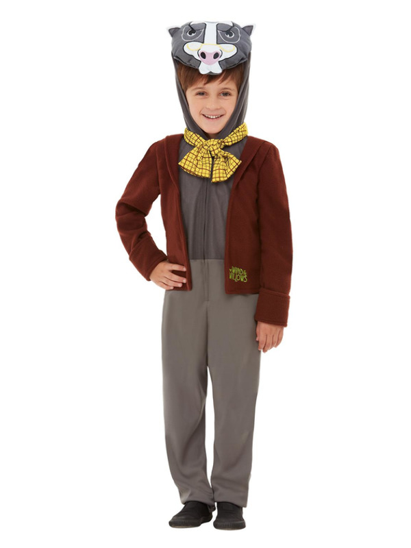 Wind in the Willows Badger Deluxe Costume, Brown