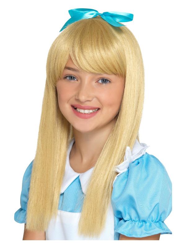 Wonderland Princess Wig, Blonde, Kids