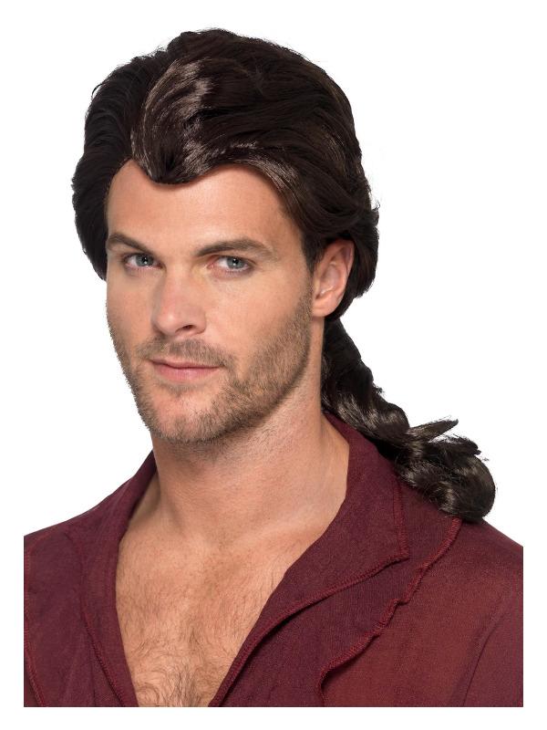 Marauder Pirate Wig, Brown