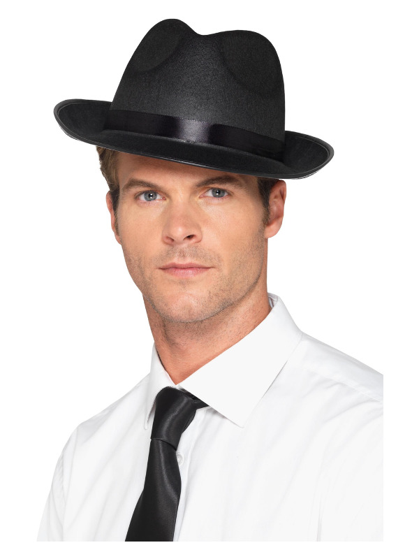 Men's Fedora Hat, Black
