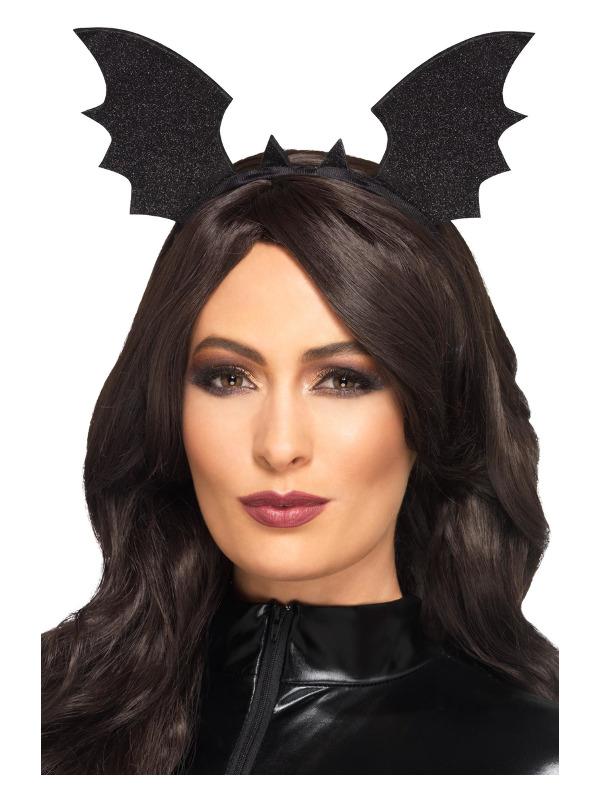 Bat Wings Headband, Black