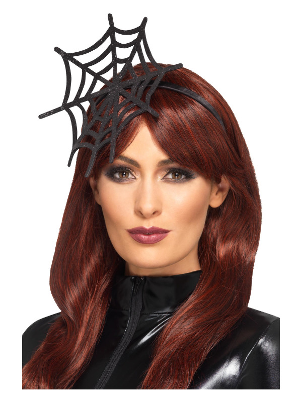 Cobweb Headband, Black