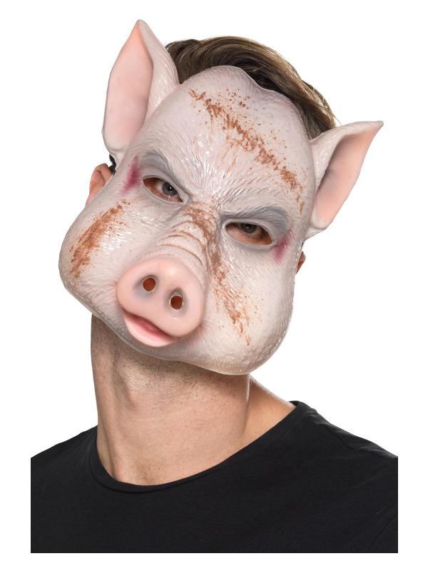 Evil Pig Killer Mask, Pink