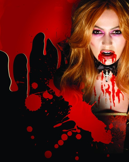 Smiffys Make-Up FX, Vampire Blood, Red, Tube 10ml/0.35 oz