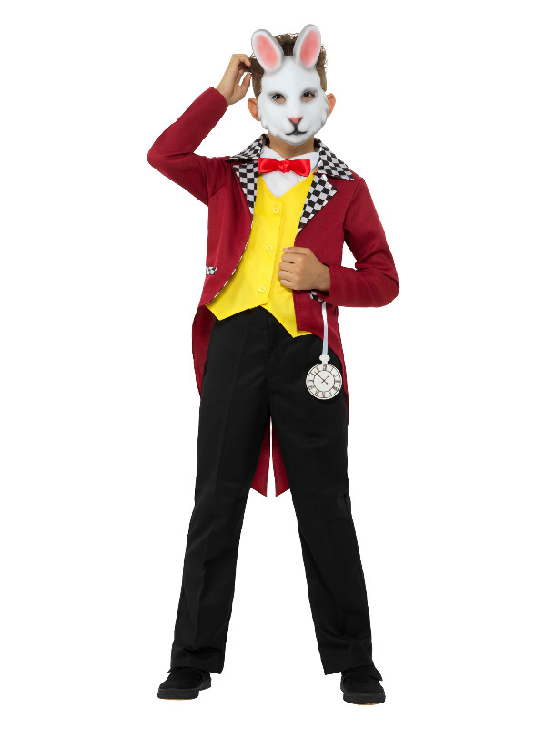 White Rabbit Costume, Multi-Coloured
