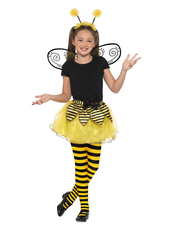 Bumblebee Kit, Black & Yellow, with Tutu, Wings & Headband
