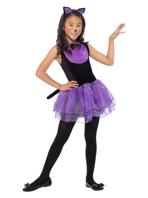 Cat Costume, Black & Purple
