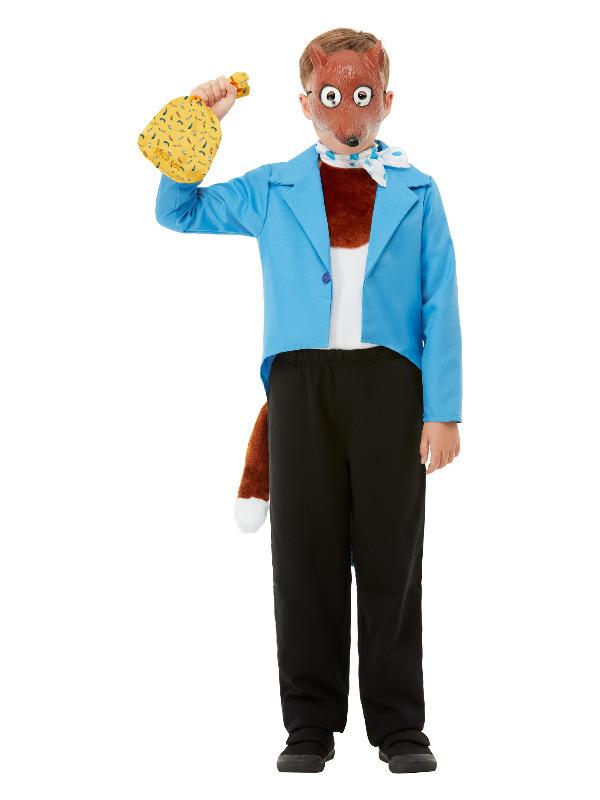 Roald Dahl Fantastic Mr Fox Instant Kit, Brown, with Mask, Cravat, Tail & Bag