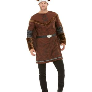 Viking Barbarian Costume, Brown