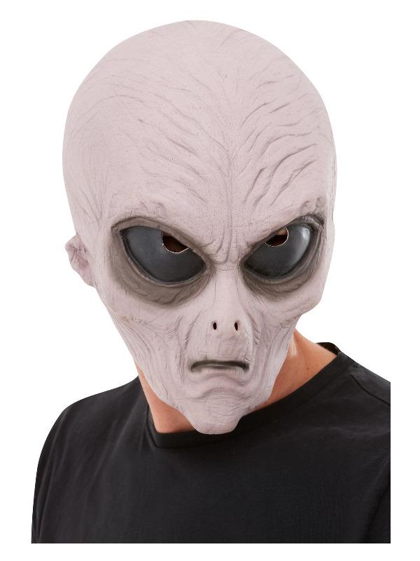 Alien Latex Mask, Purple