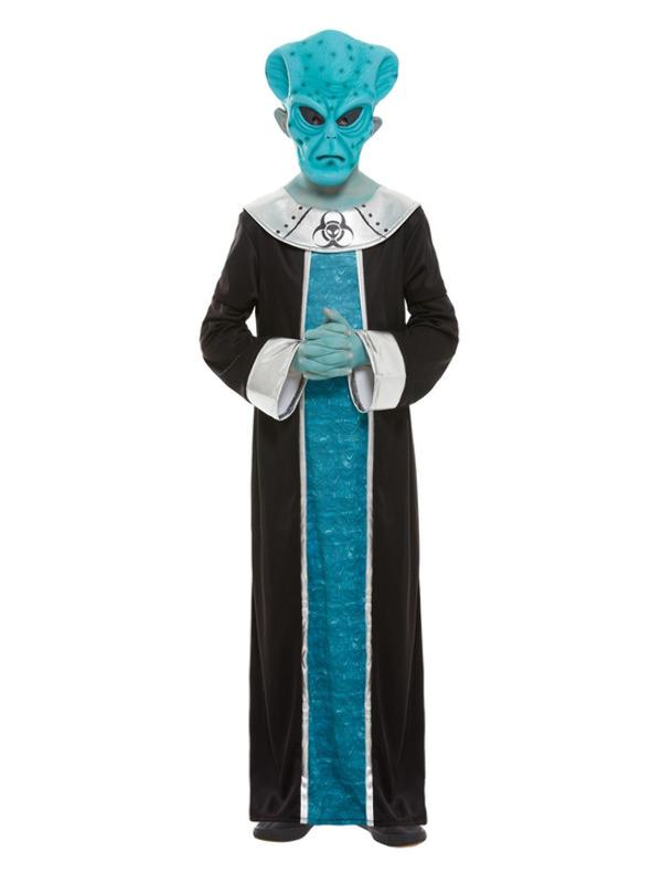 Alien Costume, Blue
