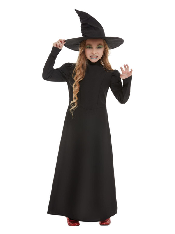 Wicked Witch Girl Costume, Black