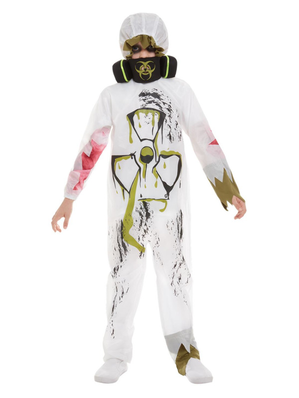 Biohazard Suit Costume, White