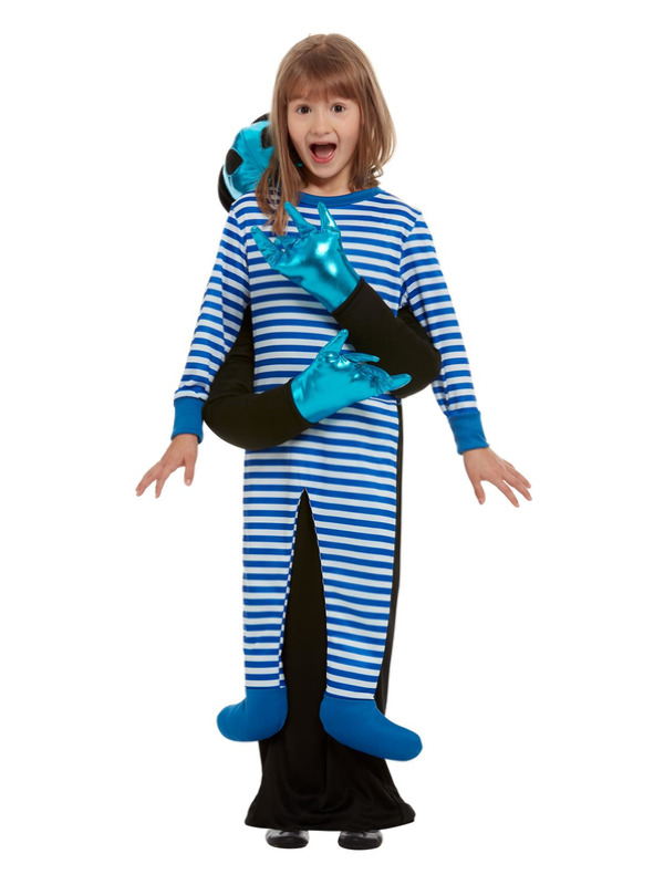 Alien Abduction Costume, Blue