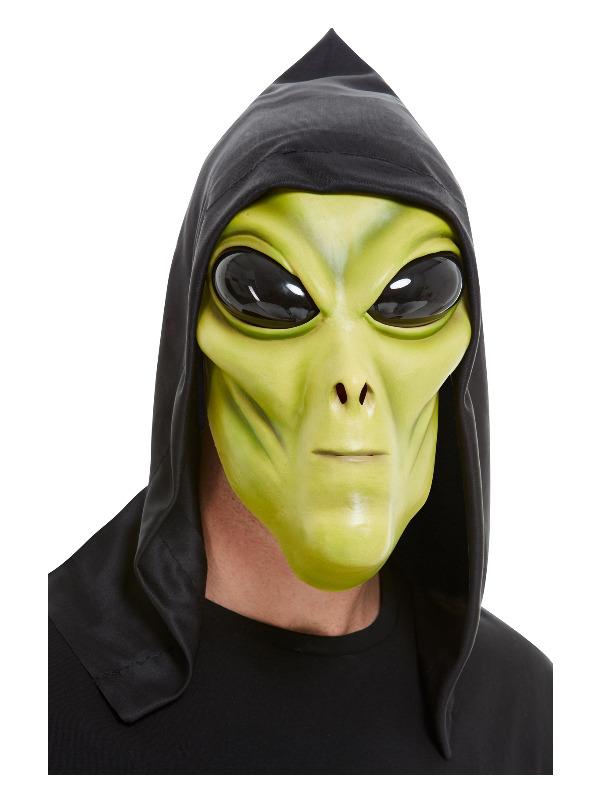 Alien Latex Mask, Green