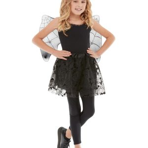 Bat Instant Kit, Black, with Wings, Tutu &  Headband