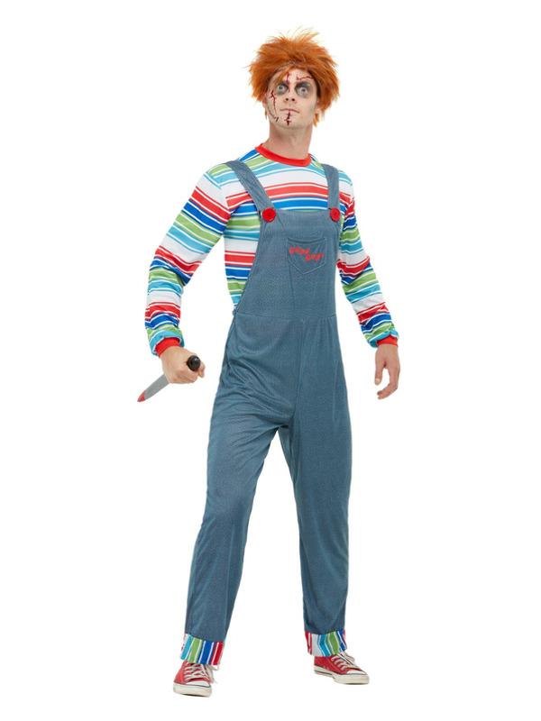 Chucky Mens Costume, Blue