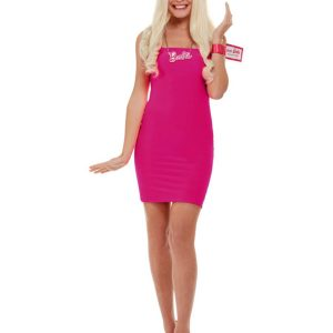 Barbie Kit, Pink, with Blonde Wig, Necklace & Bracelet Tag