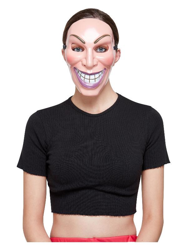 Smiler Mask, Female, with Elastic Strap