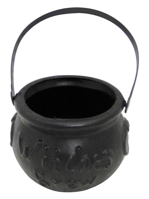 Witch's Brew Cauldron, Black, Small