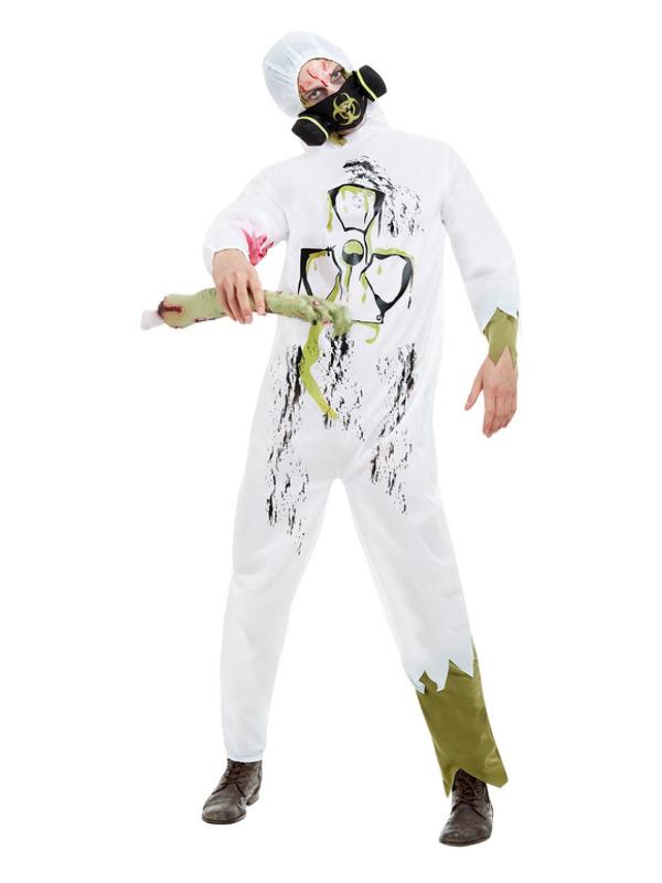 Biohazard Suit, White