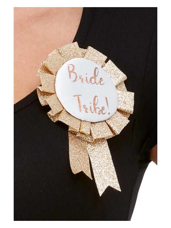 Bride Tribe Rosette, Rose Gold