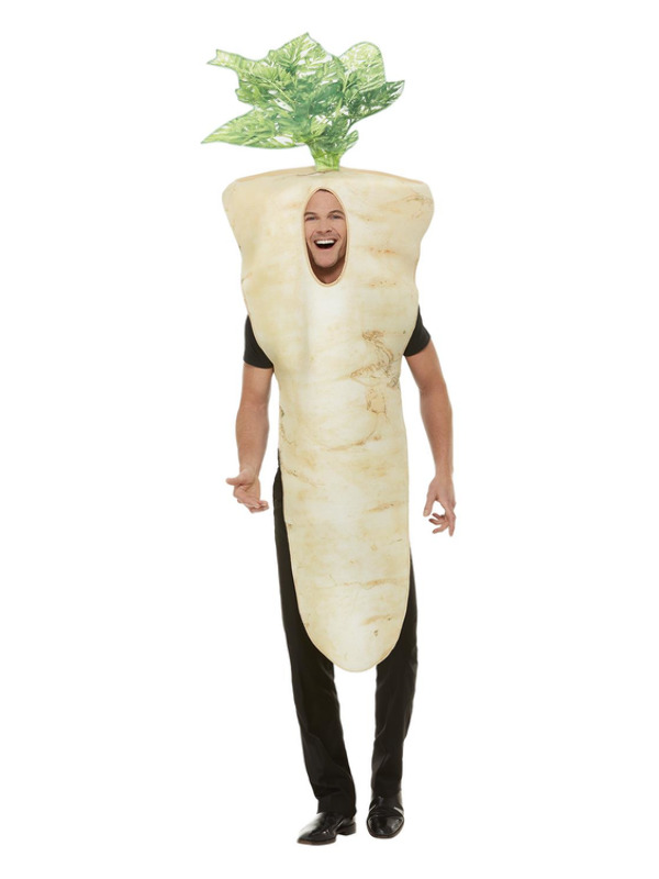 Christmas Parsnip Costume, Brown, with Tabard