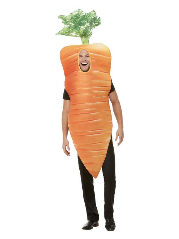 Christmas Carrot Costume, Orange, with Tabard