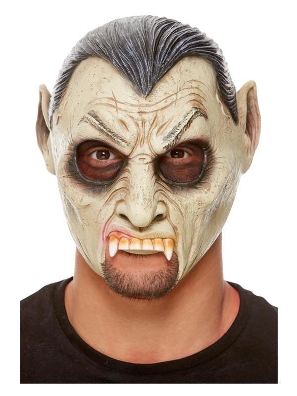 Vampire Latex Mask, Grey
