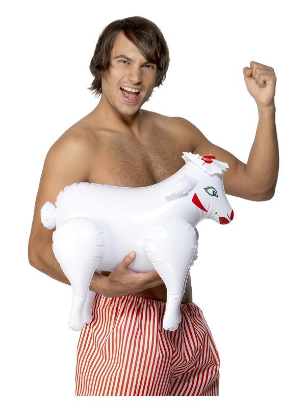 Inflatable Sheep, Bonking Baa Baa, White, 45cm/18in