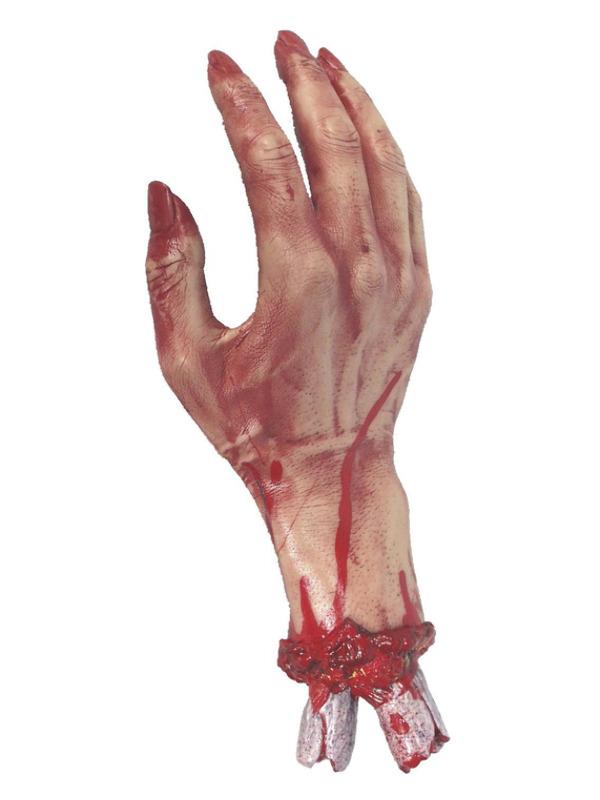 Severed Gory Hand, Flesh, 30cm/12in