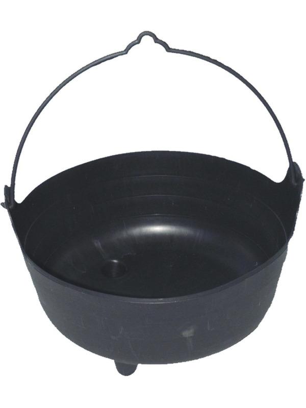 Lifesize Witch's Cauldron, Black, Large