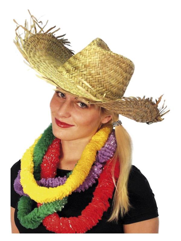 Beachcomber Hawaiian Straw Hat, Straw