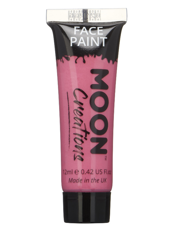Moon Creations Face & Body Paint, Hot Pink