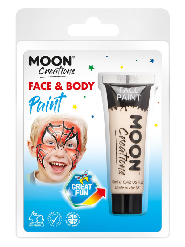 Moon Creations Face & Body Paint, Nude