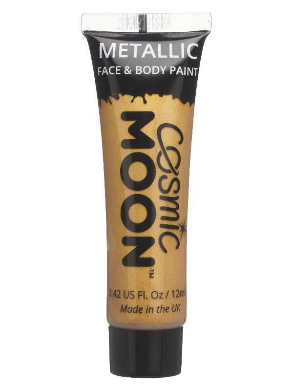 Cosmic Moon Metallic Face & Body Paint, Gold