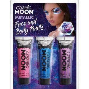 Cosmic Moon Metallic Face & Body Paint,