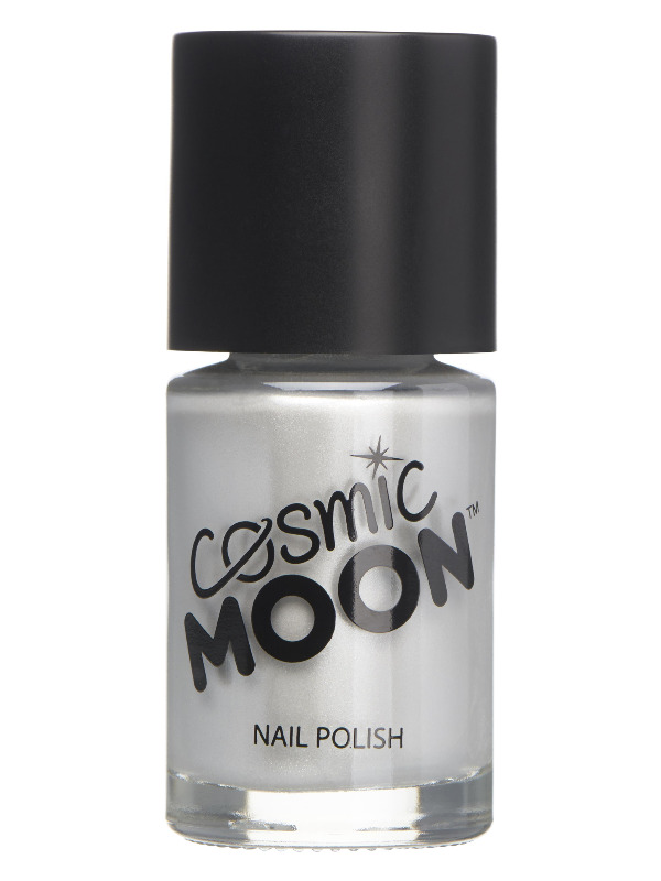 Cosmic Moon Metallic Nail Polish, Silver