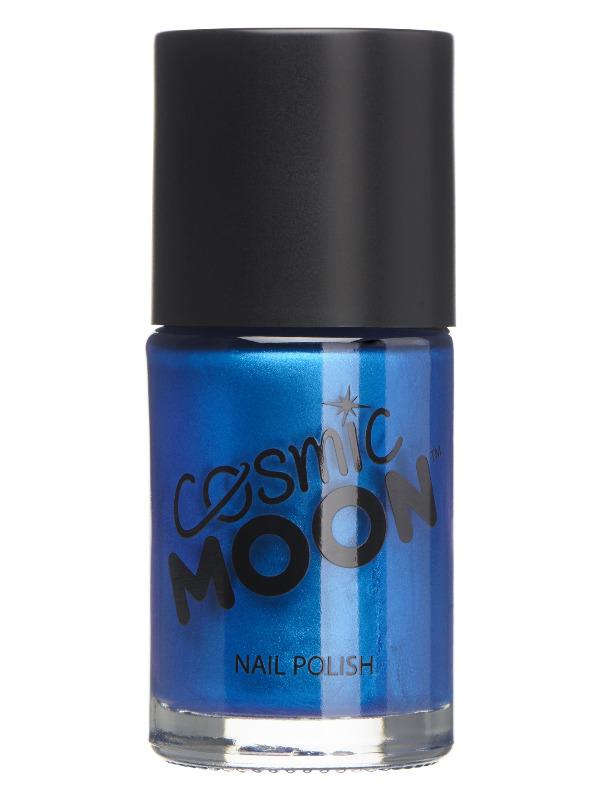 Cosmic Moon Metallic Nail Polish, Blue