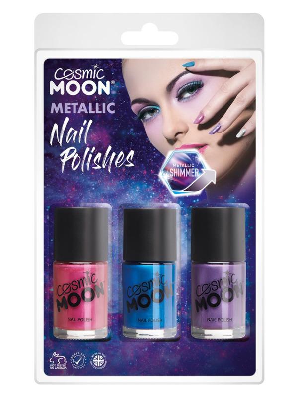 Cosmic Moon Metallic Nail Polish,
