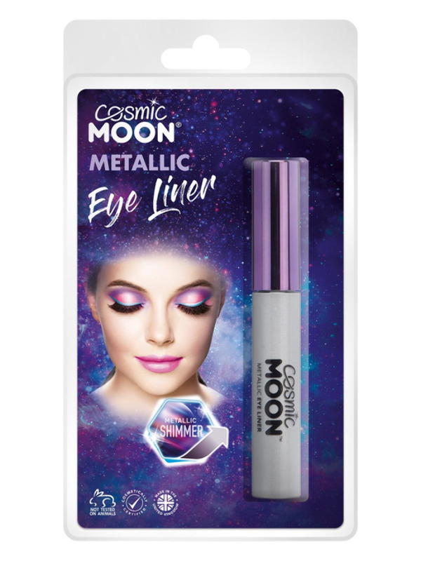 Cosmic Moon Metallic Eye Liner, Silver
