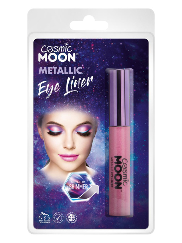 Cosmic Moon Metallic Eye Liner, Pink
